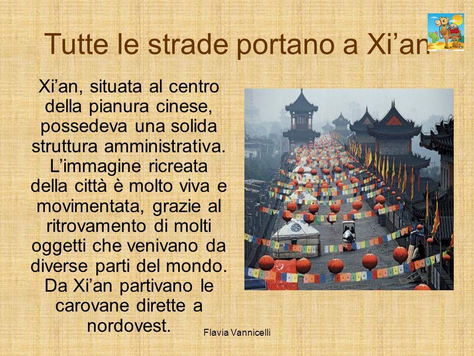 Tutte le strade portano a Xian Xian, situata al centro della pianura cinese, possedeva una solida struttura amministrativa. Limmagine ricreata della c