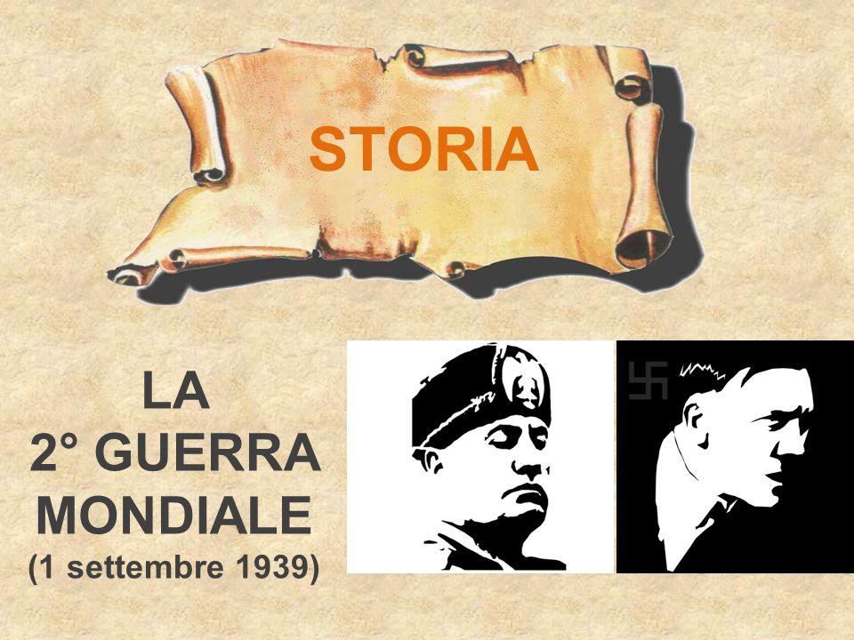 STORIA LA 2° GUERRA MONDIALE (1 settembre 1939)