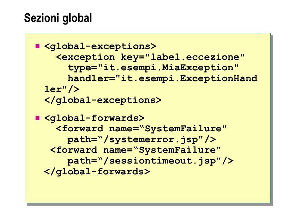 Sezioni global