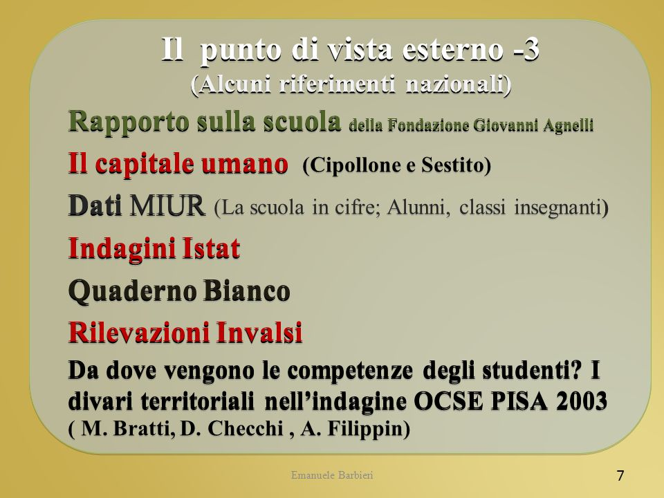 Emanuele Barbieri La citata sentenza n.