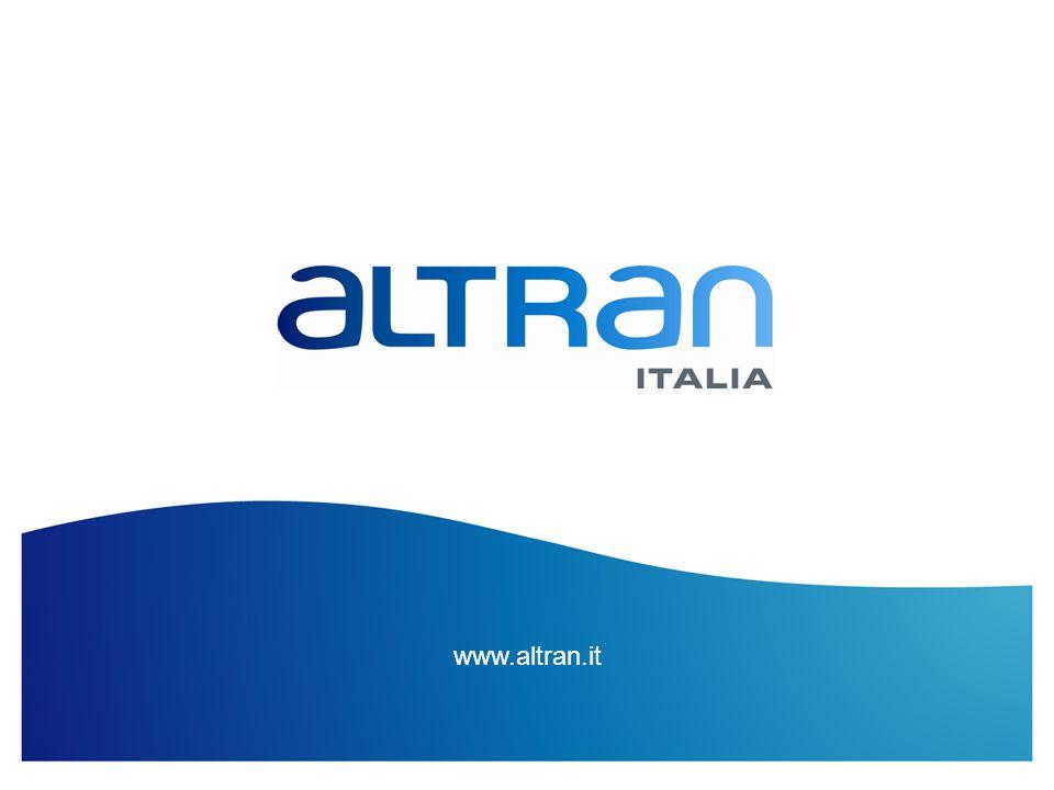 14 Titolo Presentazione / Data / Confidenziale / Elaborazione di... www.altran.it
