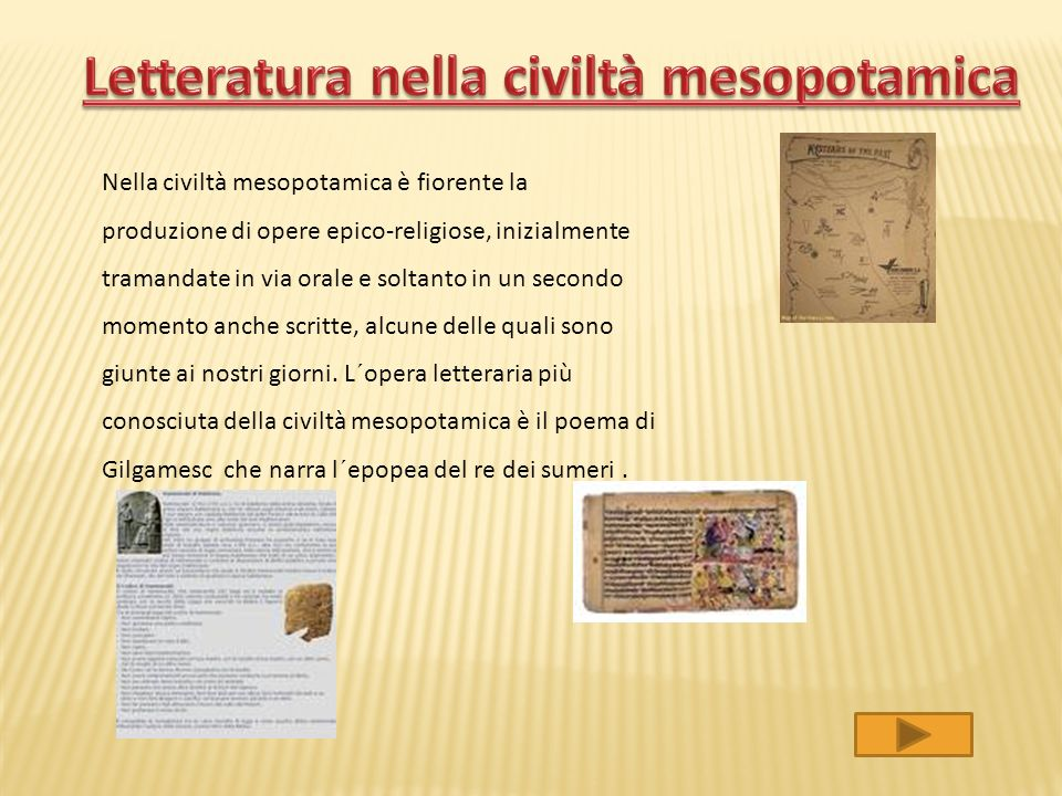 Per storia della Mesopotamia si intende la storia della regione geografica mesopotamica e dei popoli che l'hanno abitata. Nel periodo che va dalla fin