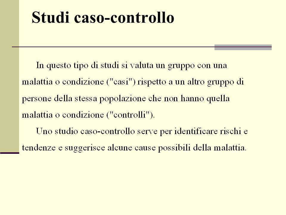 Studi caso-controllo