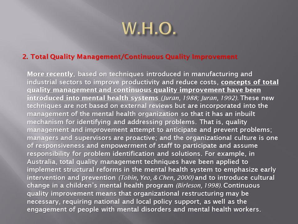 Dipartimento di Salute Mentale di Trieste Miglioramento Continuo di Qualità Progetti di MCQ dal 1991 ad oggi 1991-92Lintervento urgente in un C.S.M.