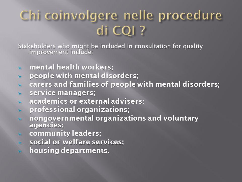 Dipartimento di Salute Mentale di Trieste Miglioramento Continuo di Qualità Metodologia (V.R.Q.) Gruppi di lavoro Multidisciplinari Interzone (presenza di tutte le U.