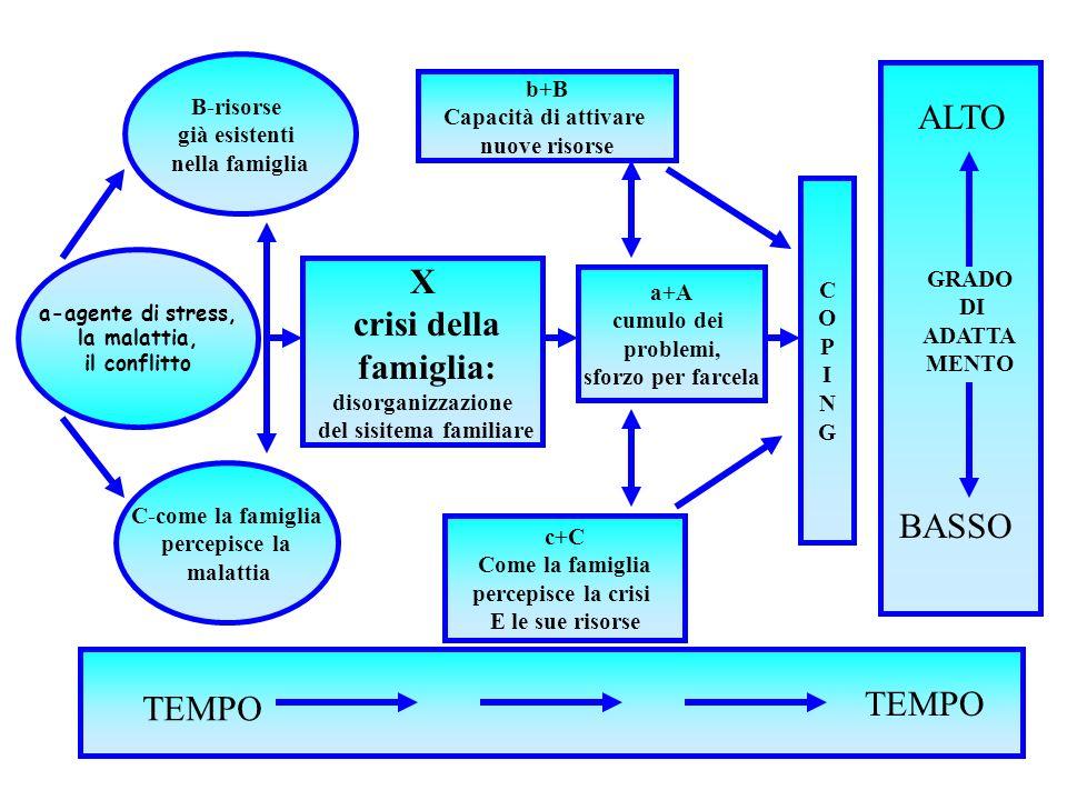peppe dell'acqua dsm trieste16 B-risorse già esistenti nella famiglia a-agente di stress, la malattia, il conflitto C-come la famiglia percepisce la m