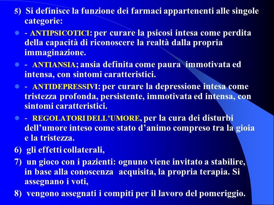 PSICOFARMACI 1) verifica del lavoro svolto nel pomeriggio, 2) definizione del termine psicofarmaci (farmaci per la mente), 3) come funzionano gli psic