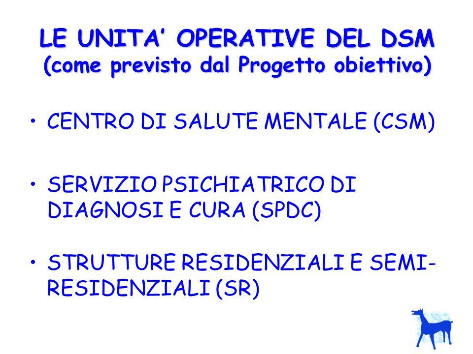 IL DSM DI TRIESTE 4 CSM 24 h (4 x 8 p.l.