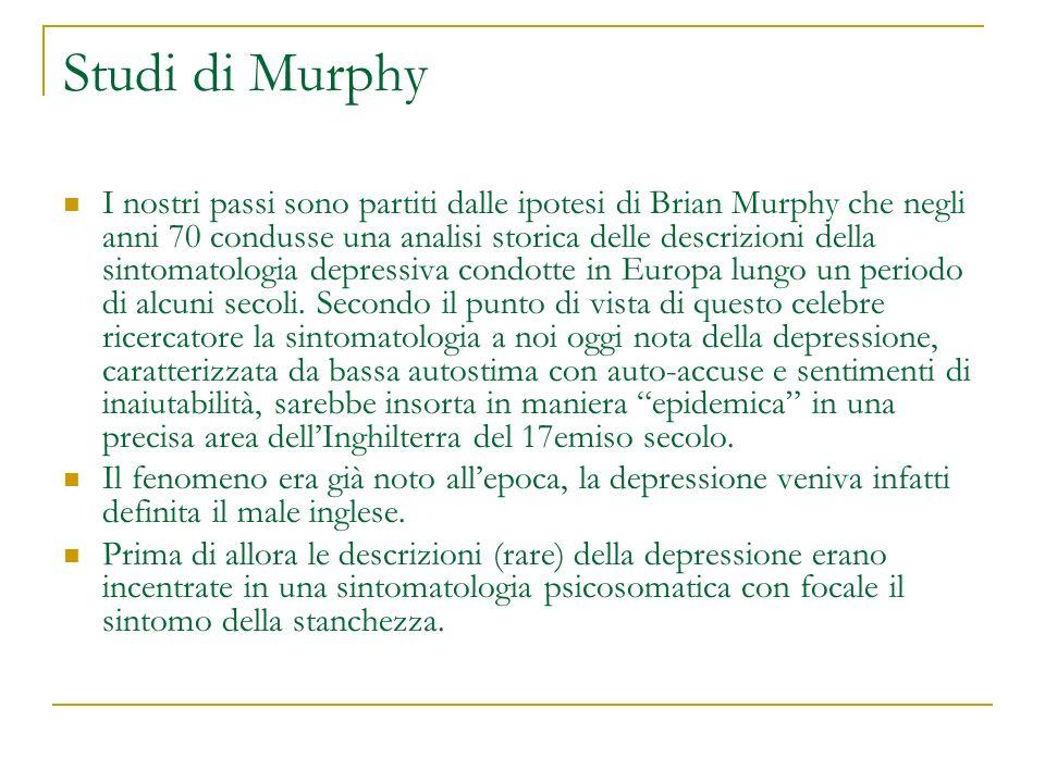 Studi di Murphy I nostri passi sono partiti dalle ipotesi di Brian Murphy che negli anni 70 condusse una analisi storica delle descrizioni della sinto