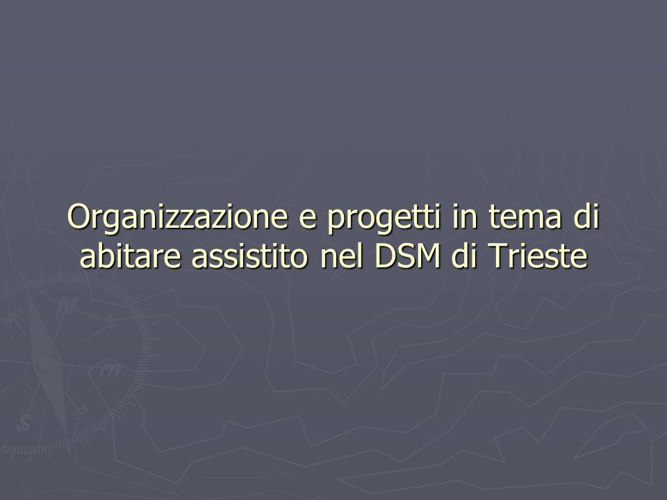 Organizzazione e progetti in tema di abitare assistito nel DSM di Trieste
