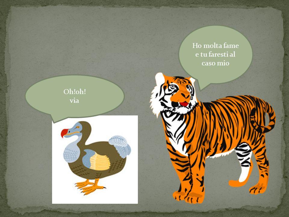 DODO= gallina preistorica scomparsa nel Madagascar. In un tempo molto lontano viveva un dodo molto impacciato che mentre faceva il bagno nel fiume una