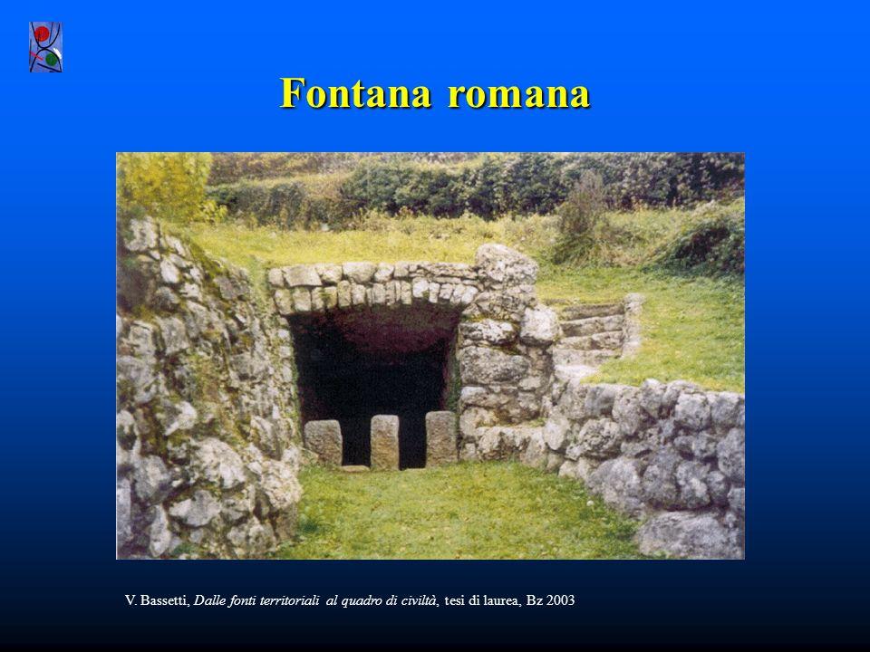 Ricerca storico didattica con fonti territoriali: un esempio Ricostruzione del quadro della civiltà romana in epoca imperiale in val Cavedine nel Tren