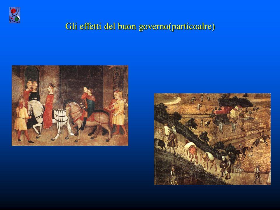 La ricerca storico didattica con fonti iconiche Gli effetti del buon governo Gli effetti del buon governo A. Lorenzetti (1338-1339) Lanalisi dellaffre