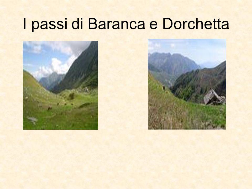 I passi di Baranca e Dorchetta