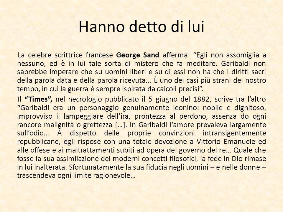 Hanno detto di lui La celebre scrittrice francese George Sand afferma: Egli non assomiglia a nessuno, ed è in lui tale sorta di mistero che fa meditar