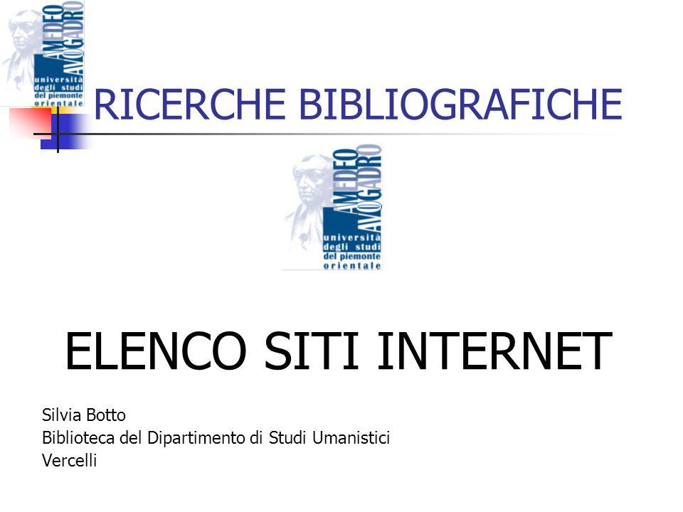 I NFORMAZIONE DISORGANIZZATA: Motori di ricerca: es.