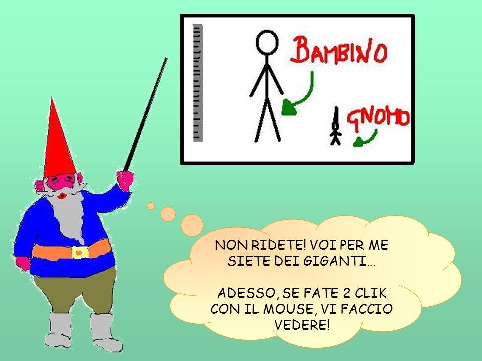 ALLORA, IO SONO… COME MI CHIAMO.BRAVI. BOMBOLO!!.