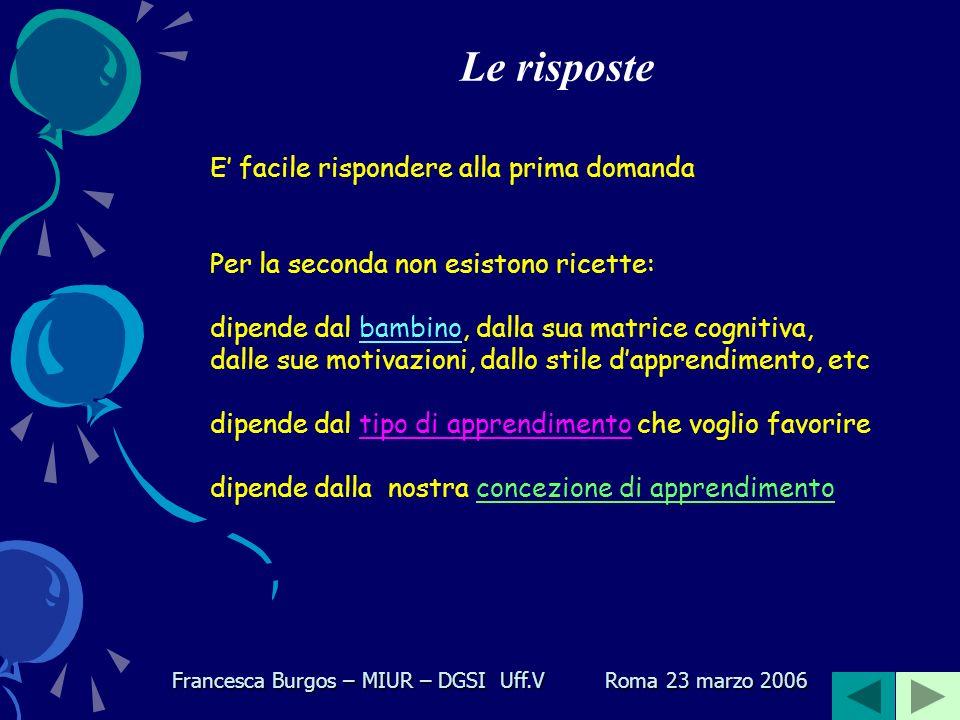 Qualche citazione Seymour Papert: Uno dei miei punti fermi centrali matetici[1] è che la costruzione che ha luogo nella testa spesso si verifica in modo particolarmente felice quando è supportata da qualcosa di molto più concreto: un castello di sabbia, una torta, una casa di Lego o una società, un programma di computer, una poesia o una teoria delluniverso.