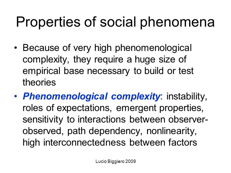 Lucio Biggiero 2009 Which kind of phenomena are better suited for ABSM.