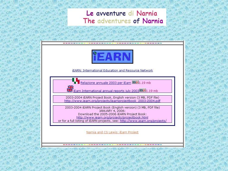 Le avventure di Narnia The adventures of Narnia