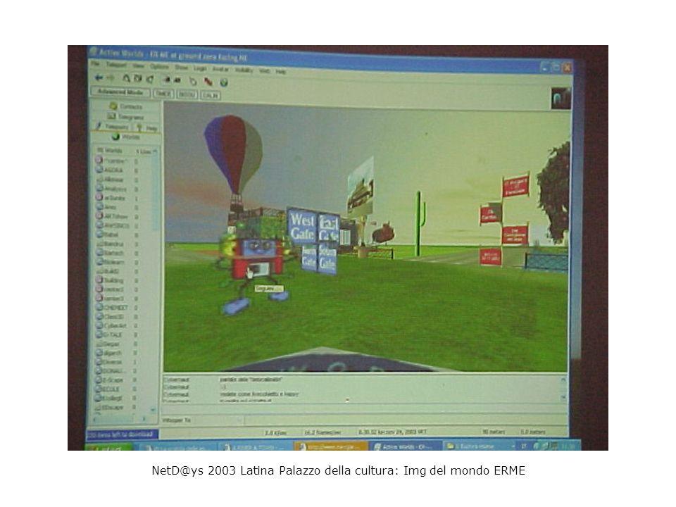 NetD@ys 2003 Latina Palazzo della cultura: Img del mondo ERME