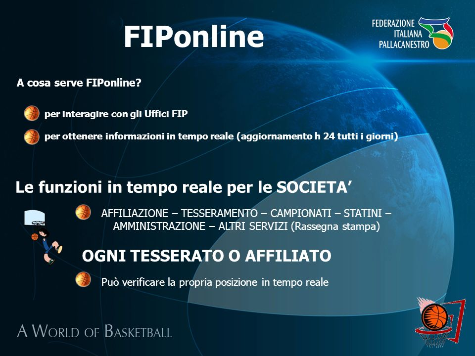 FIPonline A cosa serve FIPonline.