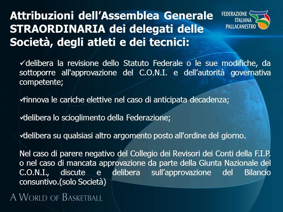 Nelle Assemblee Territoriali elettive hanno diritto di partecipazione e di voto le Società affiliate che hanno sede nel corrispondente ambito territoriale, determinato dallordinamento dello Stato italiano.