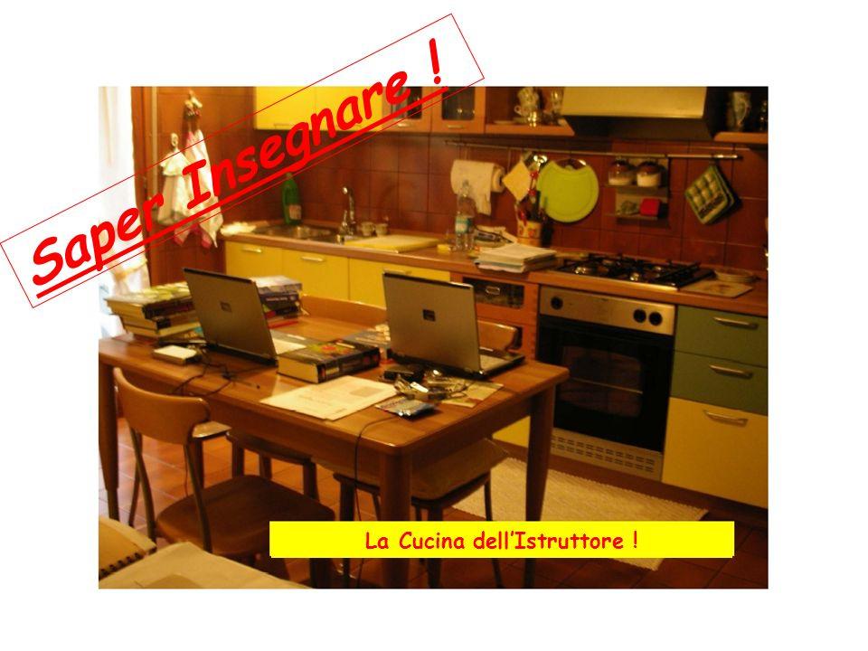 La Cucina dellIstruttore ! Saper Insegnare !