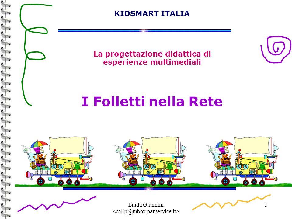 Linda Giannini 1 KIDSMART ITALIA La progettazione didattica di esperienze multimediali I Folletti nella Rete