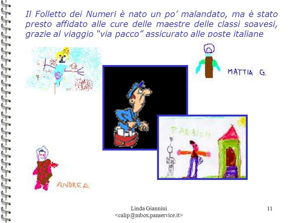 Linda Giannini 11 Il Folletto dei Numeri è nato un po malandato, ma è stato presto affidato alle cure delle maestre delle classi soavesi, grazie al vi