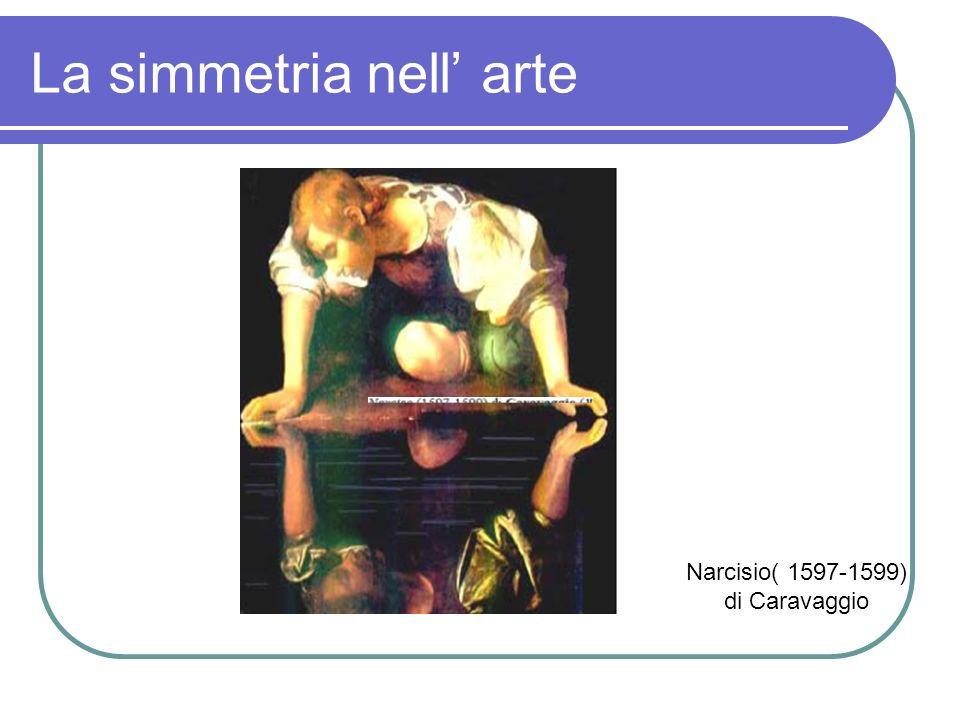 La simmetria nell arte Narcisio( 1597-1599) di Caravaggio