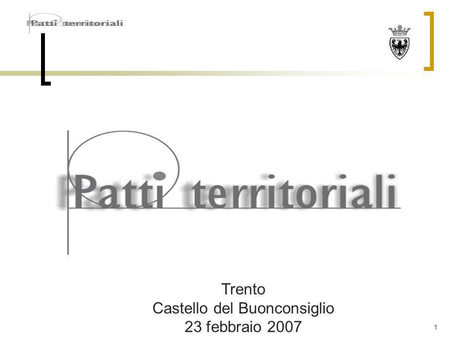 1 Trento Castello del Buonconsiglio 23 febbraio 2007