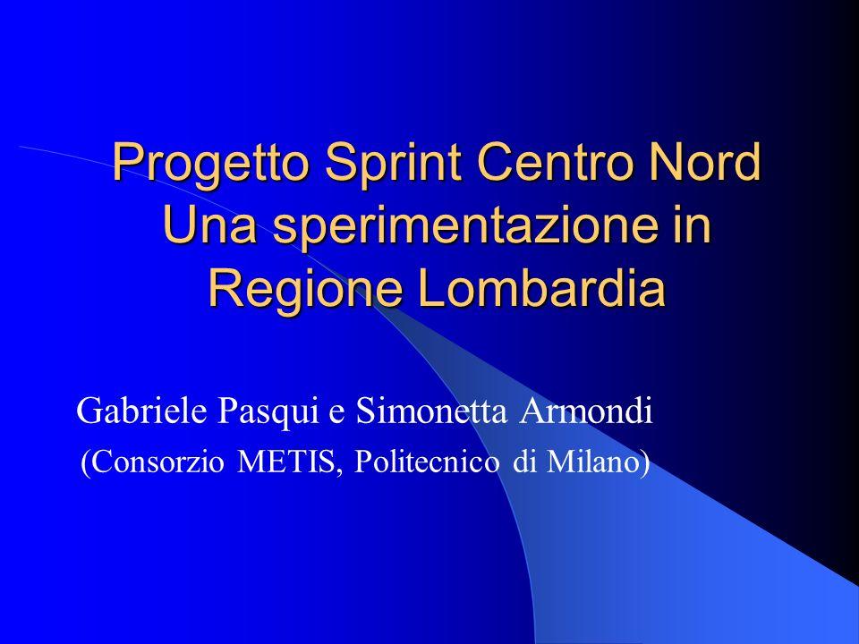 Presentazione del gruppo di lavoro Lattività del DiAP di analisi dei PISL Il lavoro di ricerca sui PISL nellambito del progetto SPRINT La collaborazione con il progetto Sprint Centro Nord