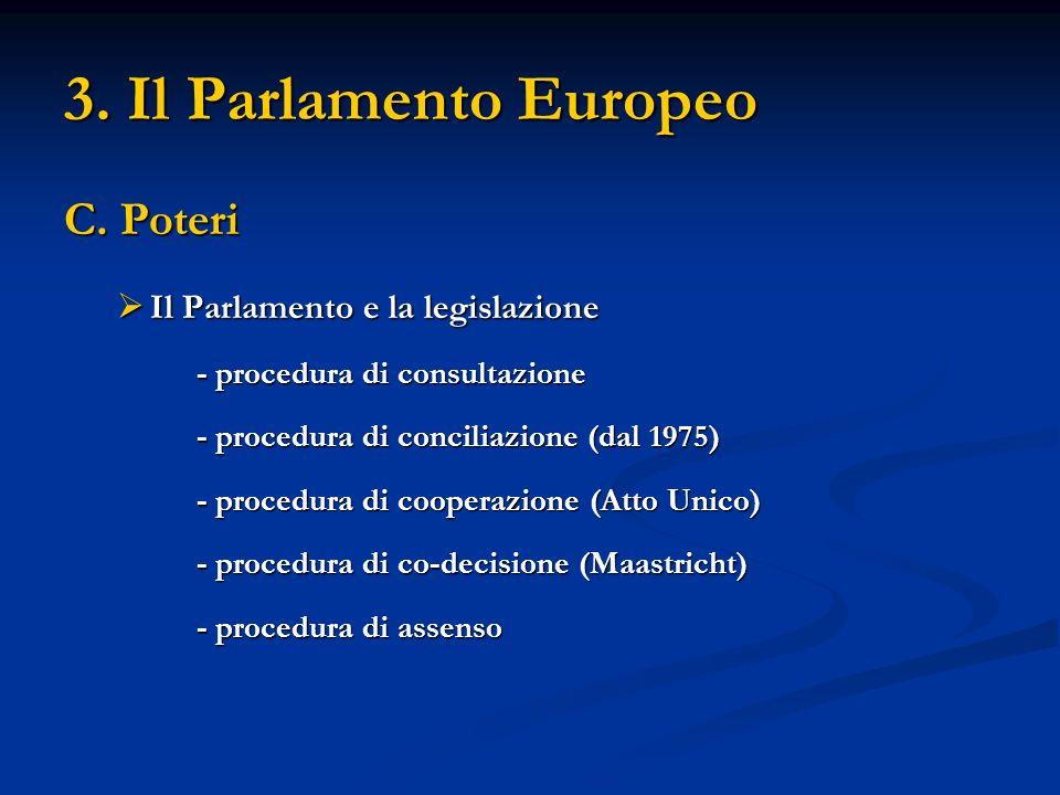 3. Il Parlamento Europeo C.