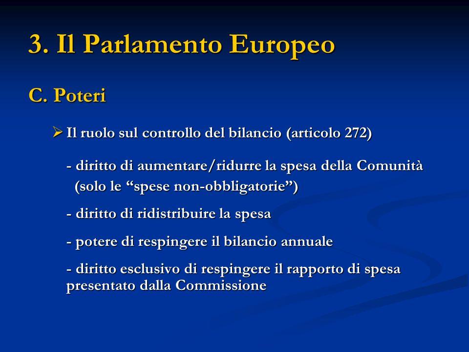 3.Il Parlamento Europeo C.