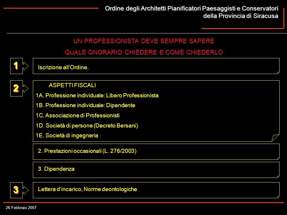 Ordine degli Architetti Pianificatori Paesaggisti e Conservatori della Provincia di Siracusa Ordine degli Architetti Pianificatori Paesaggisti e Conse