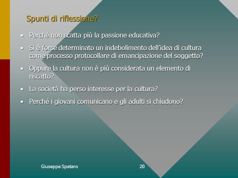 Giuseppe Spataro19 Provaci ancora, scuola.