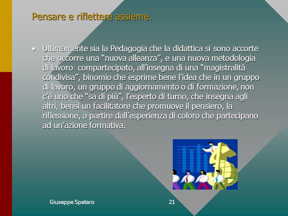 Giuseppe Spataro20 Spunti di riflessione.