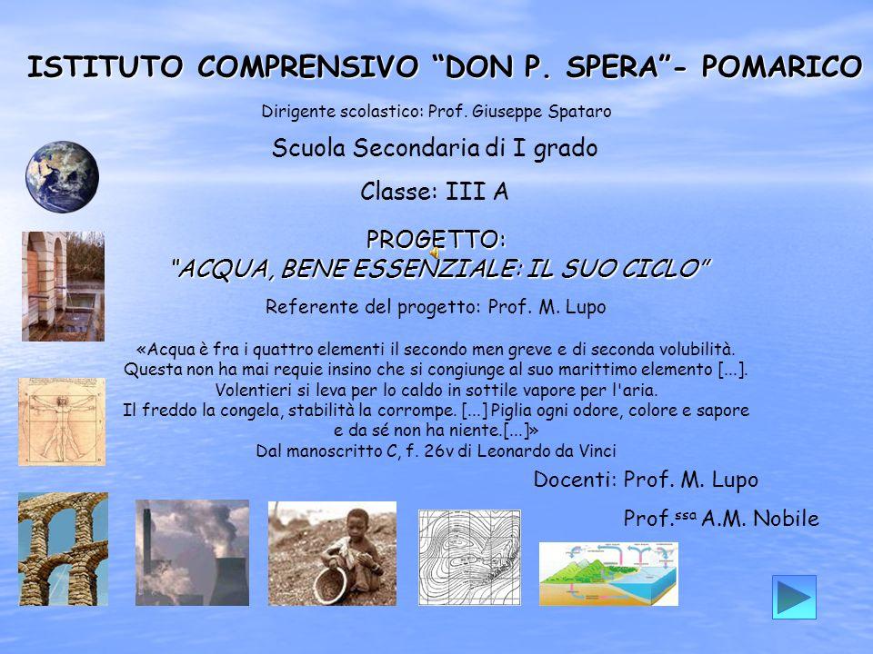 ISTITUTO COMPRENSIVO DON P.