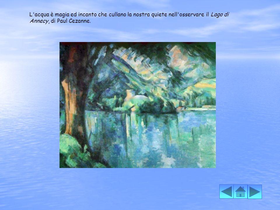L acqua è lo specchio della realtà, è il simbolo della perfezione agli occhi del Narciso, di Caravaggio.