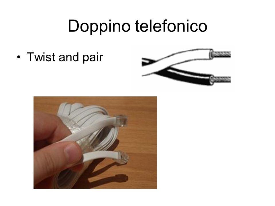 Doppino telefonico Twist and pair