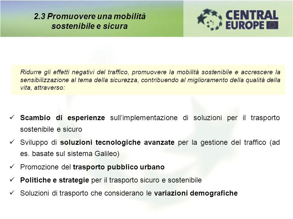 Ridurre gli effetti negativi del traffico, promuovere la mobilità sostenibile e accrescere la sensibilizzazione al tema della sicurezza, contribuendo