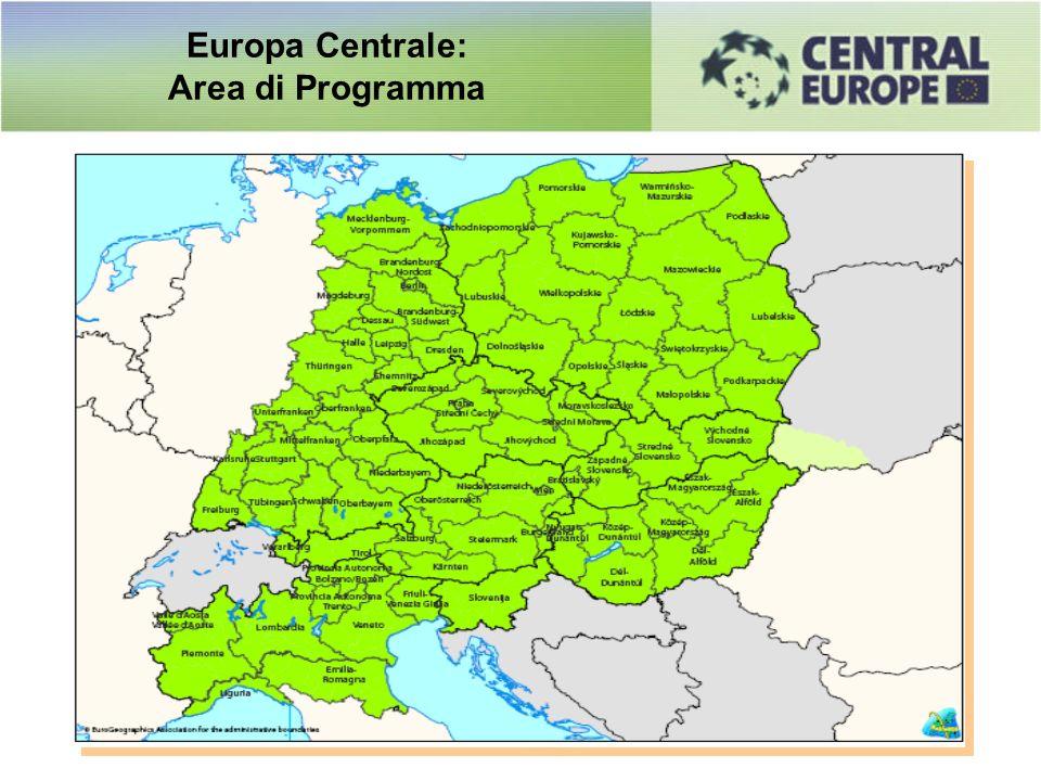 Europa Centrale: Area di Programma