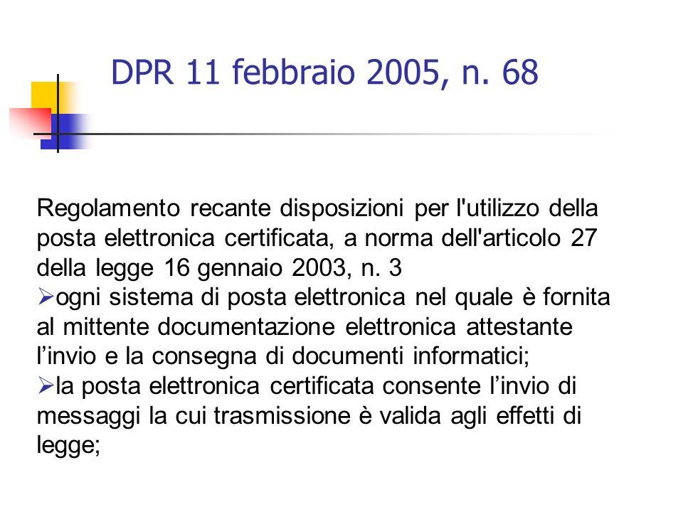 DPR 11 febbraio 2005, n.