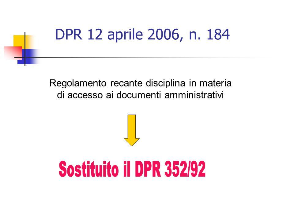 DPR 12 aprile 2006, n.