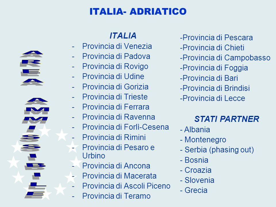 ITALIA -Provincia di Venezia -Provincia di Padova -Provincia di Rovigo -Provincia di Udine -Provincia di Gorizia -Provincia di Trieste -Provincia di F