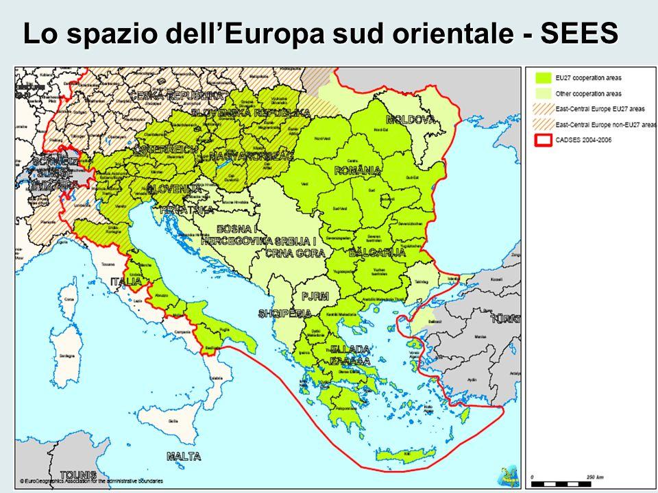 Lo spazio dellEuropa sud orientale - SEES