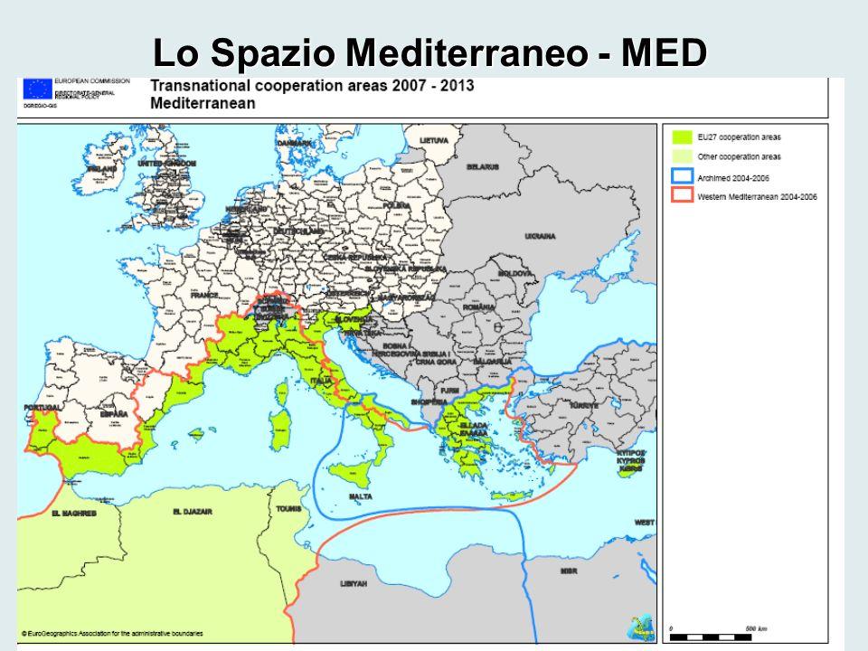 Lo Spazio Mediterraneo - MED