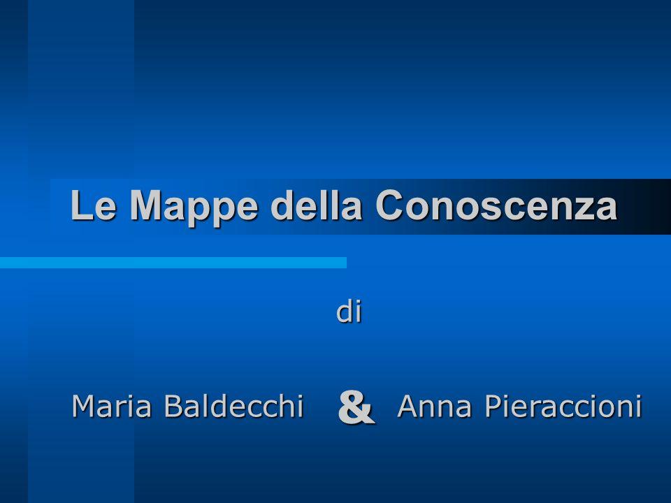 Le Mappe della Conoscenza di di Maria Baldecchi Anna Pieraccioni &