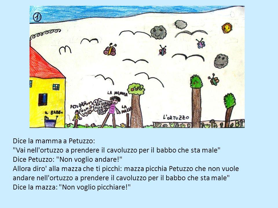 Dice la mamma a Petuzzo: